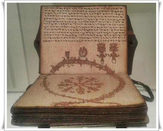Libro de adivinación pustaha.