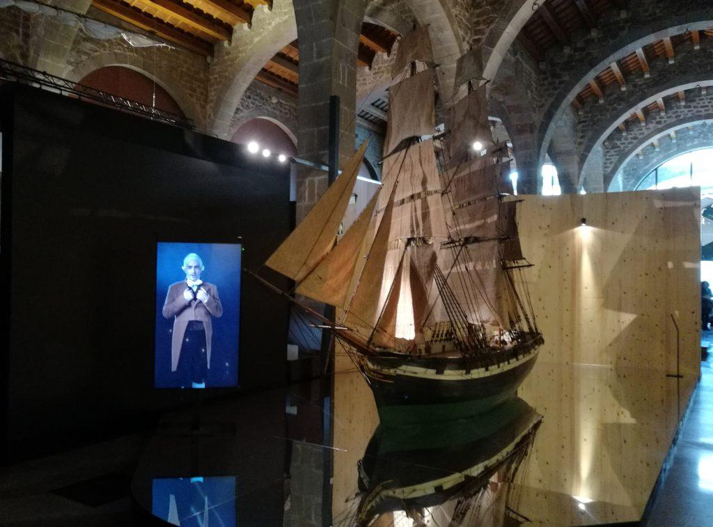 Fragata Barcelona. Patrimoni Moble Museu Marítim de Barcelona.
